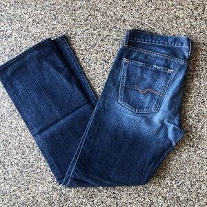 Men's 7 for all mankind jeans